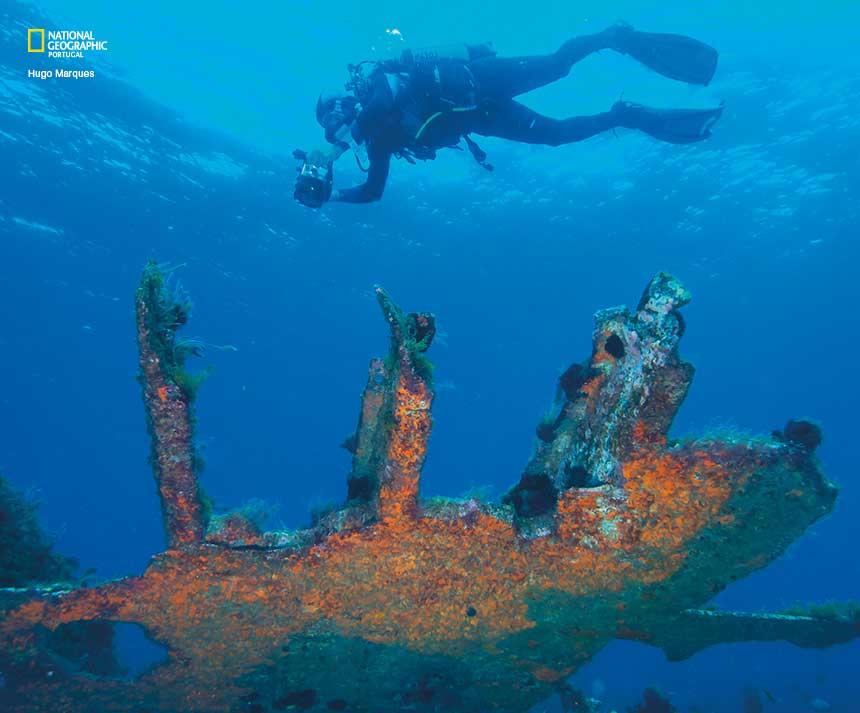 Há novos mapas dos naufrágios nos Açores
