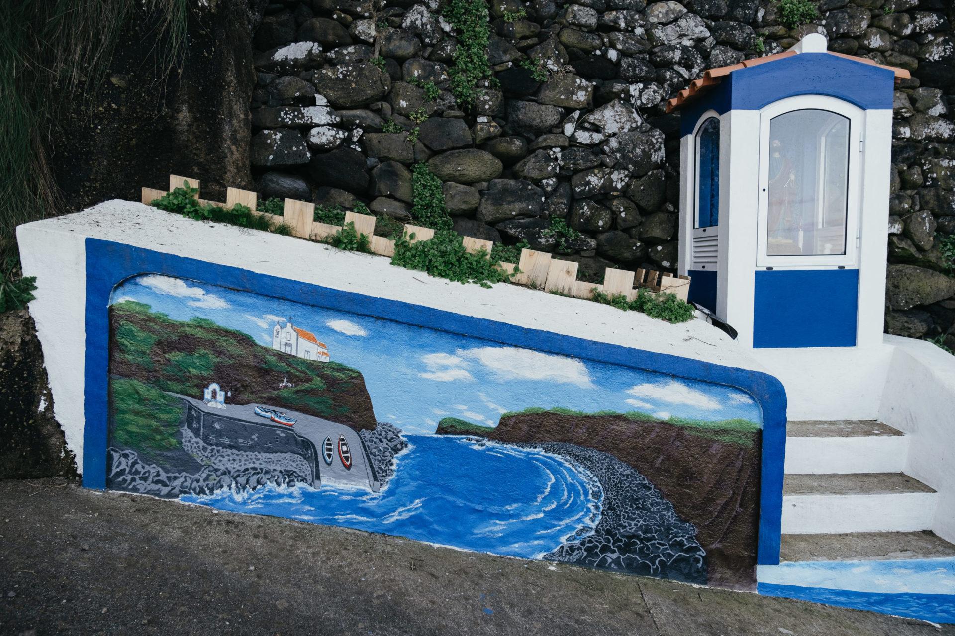 Mural pintado